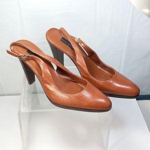 STEVEN By Steve Madden Brown  heels pump Slingback